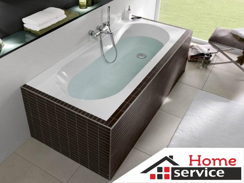 Установка или замена ванны